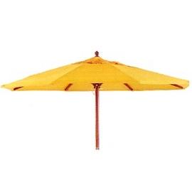 P020-U1040B 7尺木傘.庭院家具.遮陽傘