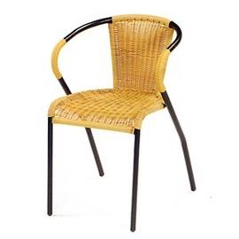 金屬管籐椅系列P020-HC-062(休閒藤椅子.造型藤編椅.創意籐椅.餐廳椅.咖啡椅.麻將椅.客廳椅.庭園椅.傢俱家具傢具特賣會)