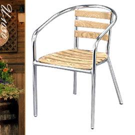 復刻良品鋁木椅 P020-U-1030 (休閒木椅子.造型椅.咖啡椅.戶外椅.麻將椅.餐廳椅.庭園椅.傢俱家具傢具特賣會)