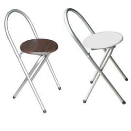 鋼管高背(木製椅座)折疊椅-4入.客廳家具.椅子 P065-XR-081-4C
