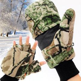 迷彩兩用保暖手套C99-0202 (可翻蓋手套掀蓋手套.防寒手套禦寒手套刷毛手套.連指手套半指手套露指手套短指手套.推薦.哪裡買)