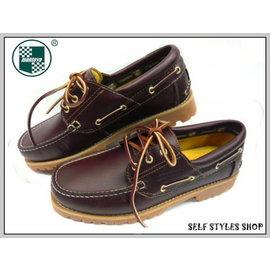 美迪-Montoya品牌(83056-02)- 帆船鞋 /雷根鞋~海馬色 -女生款