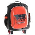 【騷包館】UnMe【日系品牌三隻UnMe兒童拉桿書包】新版 3304A橘紅色