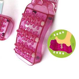 【winshop】☆2個含運送到家☆可愛小豬腿部/腳板/腳底保健按摩器,小巧好攜帶,特殊滾輪設計超舒服