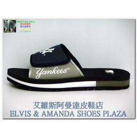 美國職棒 MLB New York Yankees 男性 海灘鞋 5049103 灰 GR