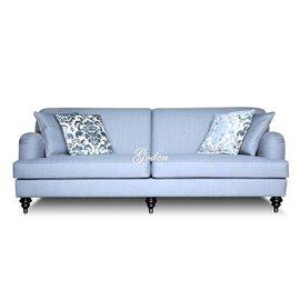 上福 ^~歐式沙發 布沙發..可訂顏色.