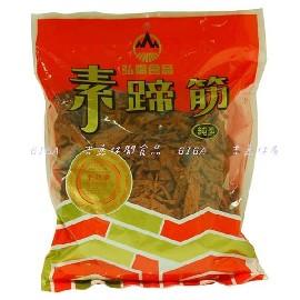 【吉嘉食品】弘揚 素蹄筋(原味/辣味),純素, 1包500公克145元,另有香菇素蹄,蒟蒻,乳酪絲