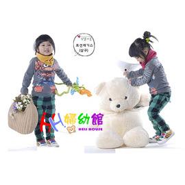 韓國熱賣款糖果圍巾/套脖/親子圍巾.可挑選尺寸【HH婦幼館】