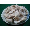 協利火鍋料~魚餃~~純 製品 外層是雪魚漿製成薄皮 內包新鮮豬肉餡 不油不膩 是火鍋聖品.