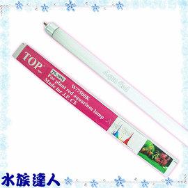 【水族達人】TOP《T5高效燈管(植物紅).7500K(39W)》超明亮!