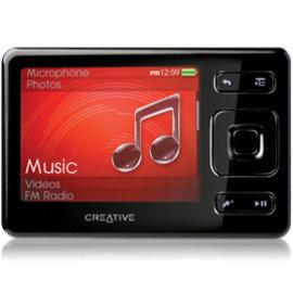 Creative ZEN MX 2.5吋旗艦影音播放機 MP4 8GB