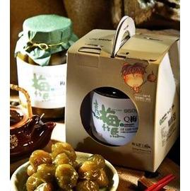 信義鄉農會Q梅~玻璃罐裝˙有湯汁~HACCP、ISO22000國際 ~道地 梅 ,梅子果肉