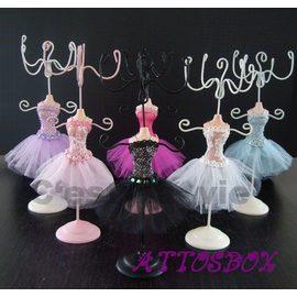 *╮ATTOS愛徒。手工訂製Lavie拉薇法國芭蕾舞衣首飾架/耳環架/珠寶飾品展示架╭☆°
