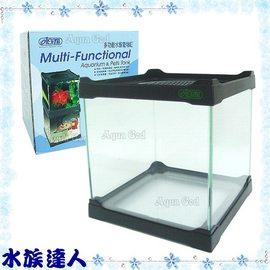 【水族達人】伊士達ISTA《多功能水族寵物缸/魚缸/爬蟲缸.黑色(小)》爬蟲箱/達人必備水族箱!