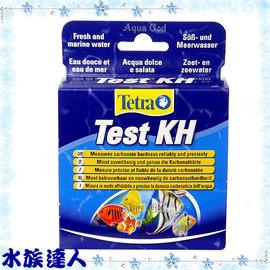 ~水族 ~德彩Tetra~碳酸鹽硬度測試液KH T559~超準確!