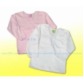 童馨小童 女生厚棉V領衛生衣 內衣2號^(85^~95cm^)^~ 製~201202~2