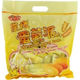 【吉嘉食品】野川蛋黃派經濟包(蛋黃) 每包19公克×12包60元{JR99:1}