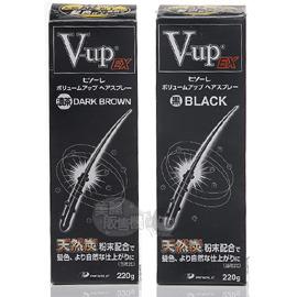 PINOLE V-UP髮濃密活性碳噴霧MINI(黑色/咖啡色)70g【美麗販售機】不用染髮劑