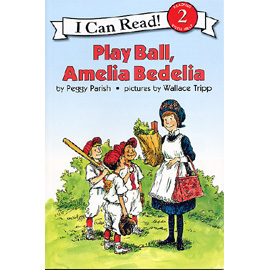 〈An I Can Read系列:Level 2 〉PLAY BALL AMELIA BE