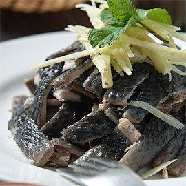 ~SabaFish~生鮮虱目魚皮^(250g^~2份 盒^)