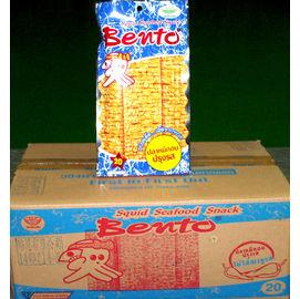 泰國便當BENTO泰式蒜辣魷魚片^(一箱36包^)