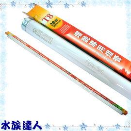 【水族達人】雅柏UP《T8增豔專用燈管/植物燈管.38W》知名品牌、大眾價格!