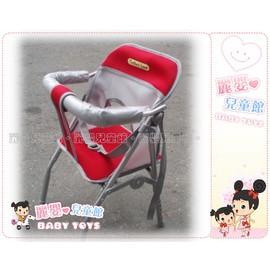 麗嬰兒童玩具館~Mother's Love-五段可調高低透氣布機車椅.有安全帶