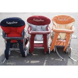 麗嬰兒童玩具館~三用揹架手推車(豪華透氣).全罩.當機車椅.棗紅/深藍/澄桔