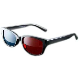 AV視聽小舖 3D立體眼鏡 3D眼鏡 ^#1007 看3D立體影片及圖案 ^( 紅綠 ^)