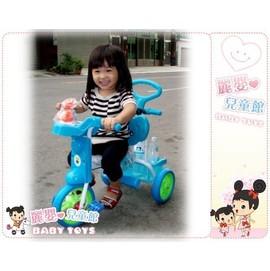 麗嬰兒童玩具館~最便宜的無尾熊系列單人後控三輪車-玩偶款-超值選.台灣製的