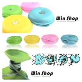 【winshop】貝果甜甜圈集線器/捲線器/繞線器/集線棒,耳機線、USB線、聽MP3、i-pod、電線都可以使用喔!