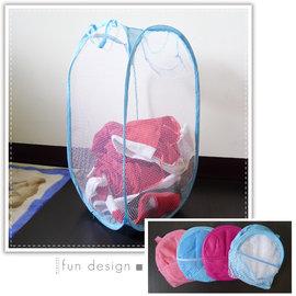 【Q禮品】折疊洗衣籃,網狀洗衣籃,玩具箱、收納袋、置物籃,可摺疊收納,不占空間!!