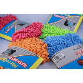 新款*雪尼爾魔術清潔手套/超細纖維靜電除塵手套*##雙面皆為雪尼爾##~清潔抹布、擦車套◇/超細纖維魔法清潔手套
