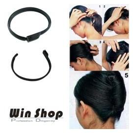 【winshop】輕便盤髮器,盤髮帶~女人我最大節目強力推薦!!讓你快速完成造型盤髮