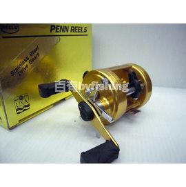 ◎百有釣具◎美國PENN REELS 975強力鼓式路亞捲線器