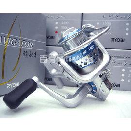 ◎百有釣具◎日本RYOBI   NAVIGATOR領航者捲線器 規格:2500~再送母線