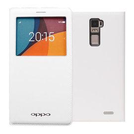 【特惠中】歐珀 OPPO R7 Plus 原廠視窗皮套/經典系列/側掀背硬殼保護套/智能休眠/吊卡盒裝/R7Plus