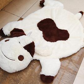 超舒服Q版動物海母絨大地墊 地毯 乳膠防滑底 卡通地墊 多款 發送
