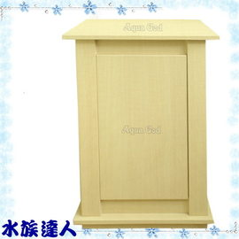 【水族達人】《二尺(62*46*83cm)方型魚缸專用木架/木櫃/櫃子.白橡木紋》預訂商品!