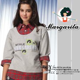 免 ~買窩~ 中大童服飾120~170公分~~雜誌款親子裝及中大童服飾~品牌Margari