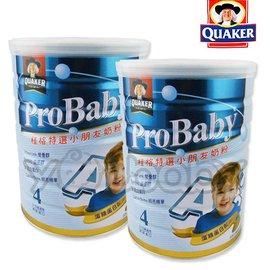 桂格 QUAKER 特選小朋友奶粉-新一代藻精蛋白配方1.5kg/罐x2入