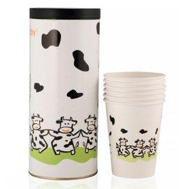 貝喜力克拋棄式奶瓶補充紙杯16入(240cc)
