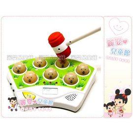 麗嬰兒童玩具館~new新款baby迷你桌上型電動打地鼠機遊戲台可以比賽超刺激.