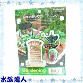 【水族達人】KOTOBUKI《園藝造景裝飾小物2號》