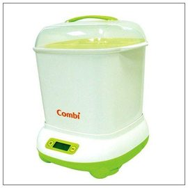 Combi康貝 微電腦高效消毒烘乾鍋,贈辛巴玻璃奶瓶(240ml)*1+品牌奶瓶刷組*1