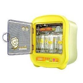 小獅王辛巴紫外線負離子殺菌烘乾消毒機---贈:辛巴水垢劑*1&奶瓶刷組*1 *本月特惠價*
