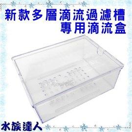 【水族達人】《新款多層滴流過濾槽專用.滴流盒(16*12*7cm)》全新設計!