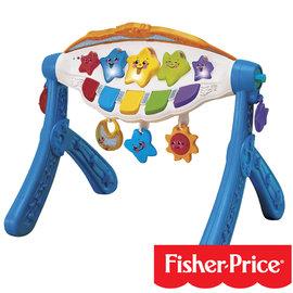 費雪古典樂章聲光健身器-贈:黃色小鴨隨手包濕紙巾*1包