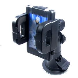 PDA 手機車架 40~120mm手機寬度 油壓式360度萬向固定架 吸盤超強吸力在車玻璃