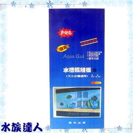 【水族達人】興利《水槽隔離板.2*2.5尺(寬*高)》隔離網 大小標準魚缸適用 超方便!